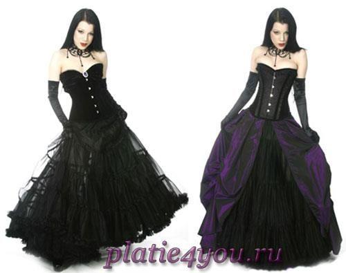 Купить платье в готическом стиле