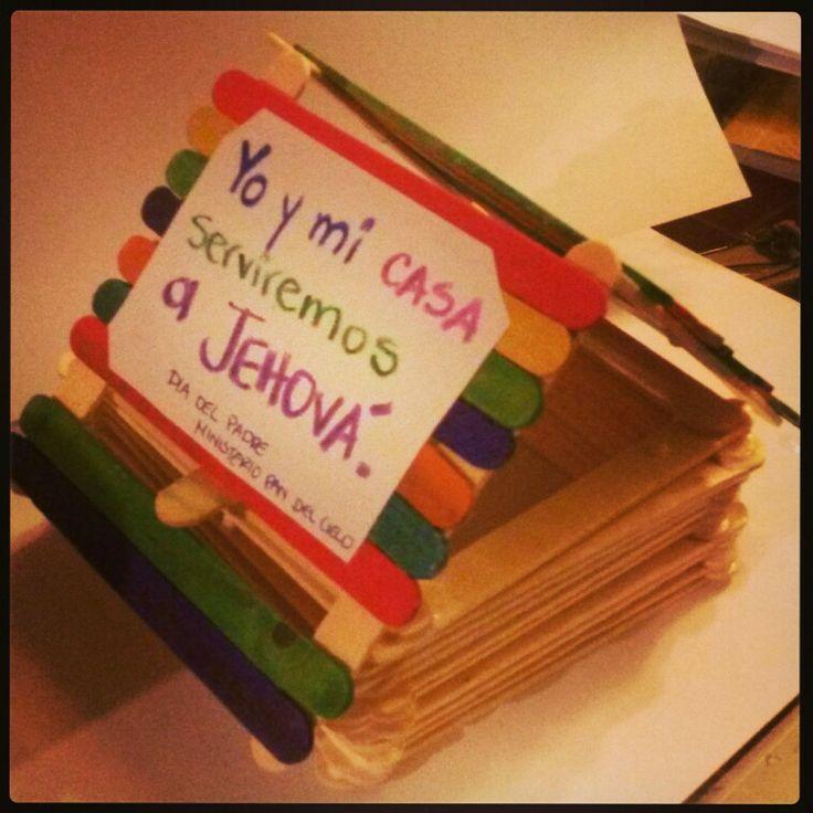 Yo y mi casa serviremos a Jehova | Manualidades Biblicas ... | 736 x 736 jpeg 68kB
