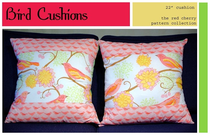 Bird Cushion Covers - by redcherrypatternco on madeit