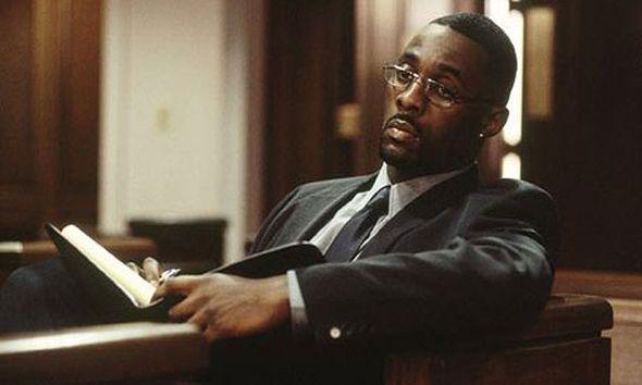 Idris Elba in The Wire