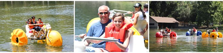 Paddle Boat Rentals at the Irvine Park. Enjoy paddle boating with the family in the Irvine park Lake. Family fun in Irvine Park, Orange County.