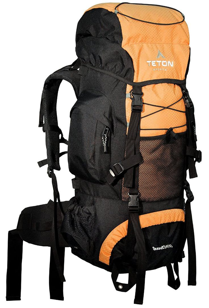 TETON Sports Scout 3400 Internal Frame Backpack Great Backpacking Gear or Pack for Camping Hiking