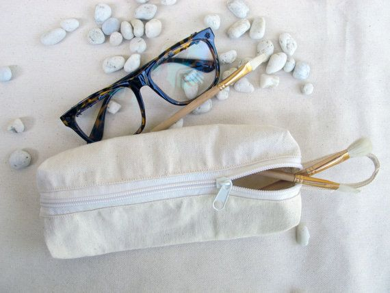 Pencil Case, Zipper Pouch, Small Cosmetic Bag,Cotton Pouch Bags
