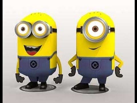 How to make despicable me minion doll