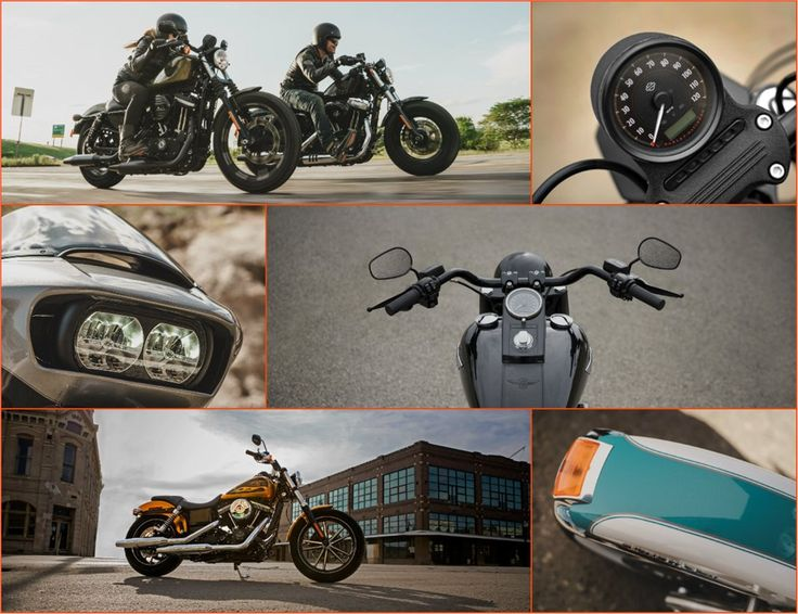 Novidades Harley-Davidson - os modelos de 2016 - MotoNews - Andar de Moto