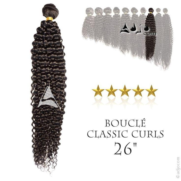 Tissage brésilien bouclé Classic Curls Haut de Gamme 26 pouces