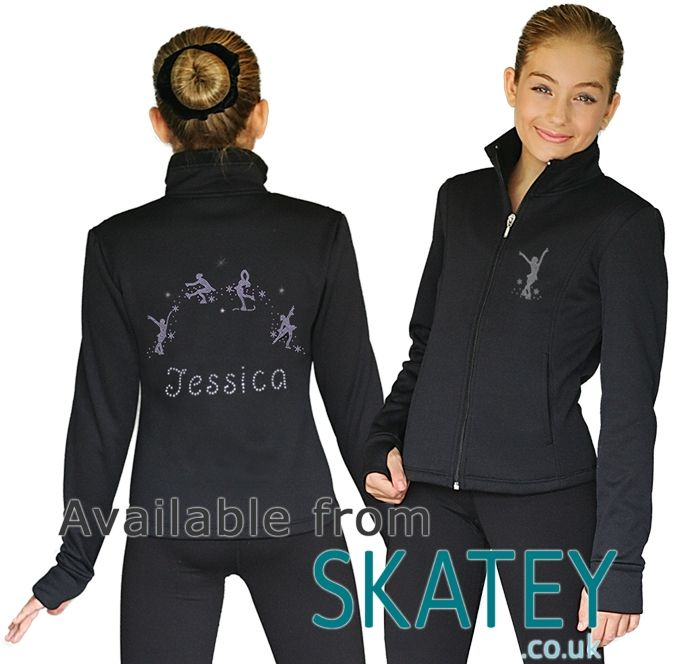 154a2ca9ec513 Group Skaters Jacket With Your Name In Rhinestones From Skatey.co.uk. Chloe  Noel ...
