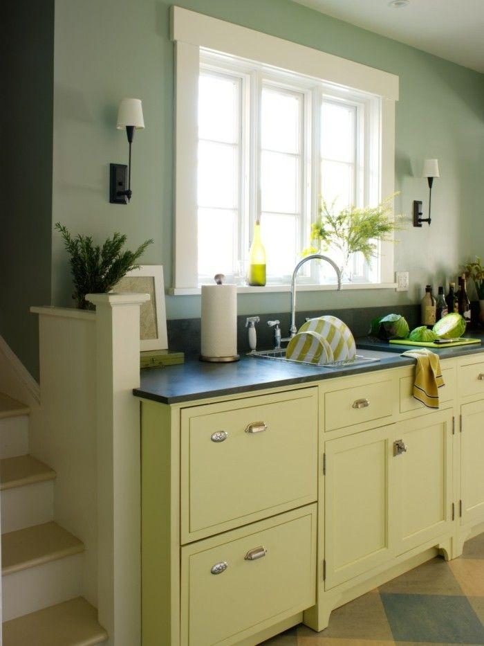 küche streichen - 60 vorschläge, wie sie eine cremefarbene