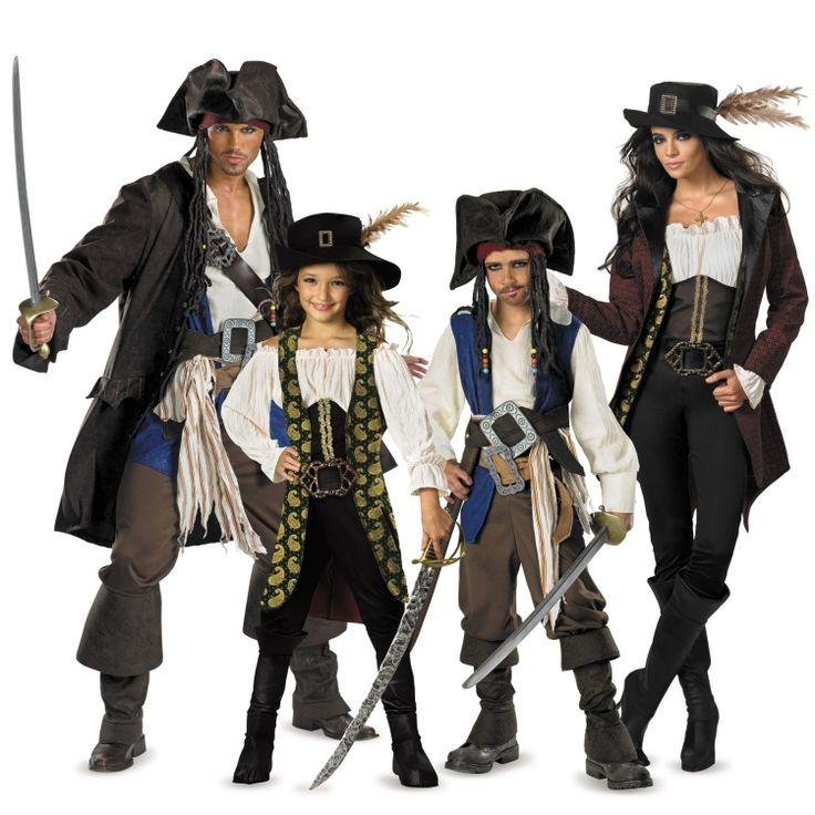 Karnevalskostüme 2015 -ideen-gruppe-piraten
