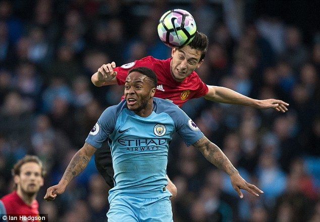 MatteoDarmian was selected ahead of Luke Shaw and he vied with Raheem Sterling on the left