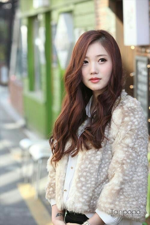Long asian hairstyles for round faces