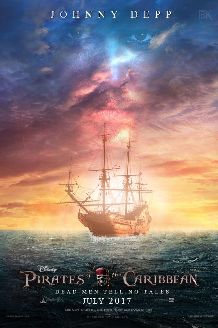 affiche du film Pirates des Caraïbes 5