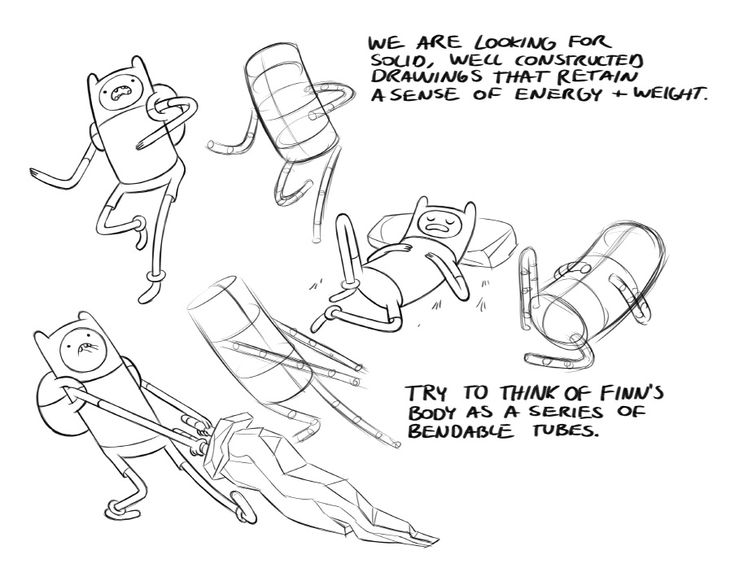 How to Draw Adventure Time - tutorial from Fred Seibert