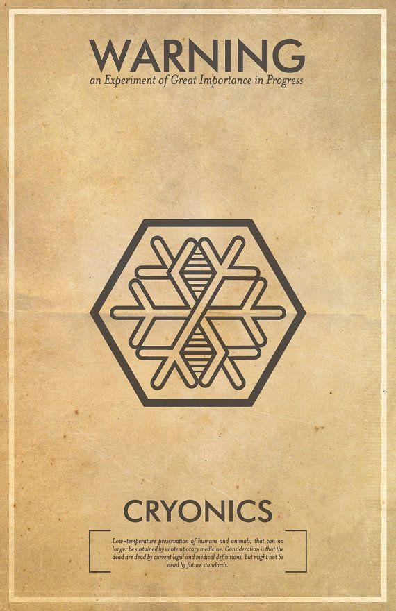 Fringe science-inspired posters should be hanging in Walter Bishop's lab #fringe #scifi #sciencefiction