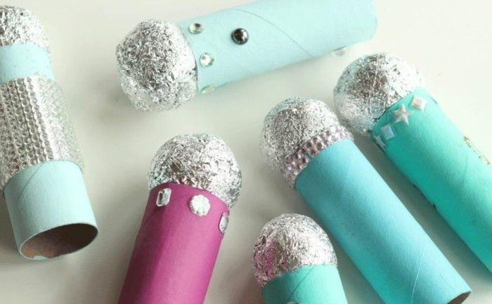 basteln mit klopapierrollen diy ideen deko ideen basteln mit kindern micro