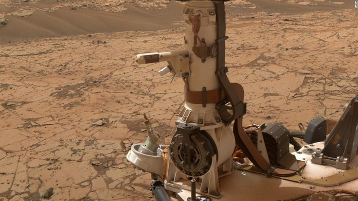"""Curiosity has temperature and humidity sensors mounted on its mast. <a href=""""https://mars.nasa.gov/news/nasa-mars-rovers-weather-data-bolster-case-for-brine"""" target=""""_blank"""">Calculations</a> in 2015 based on Curiosity's measurements<a href=""""http://www.cnn.com/2015/04/14/us/mars-water-feat/index.html"""" target=""""_blank""""> indicate</a> that Mars could be dotted with tiny puddles of salty water at night."""