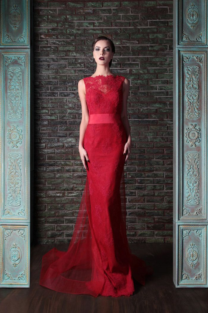 1000 ideas about red wedding gowns on pinterest red for Rami kadi wedding dresses prices