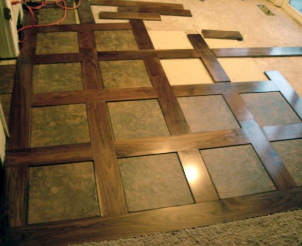 Tile and Wood Basket Weave.JPG. This would be cool for an entry space