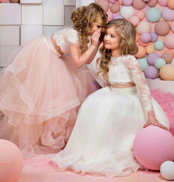 Mejores 13 imágenes de For Flower Girls en Pinterest | Damitas de ...