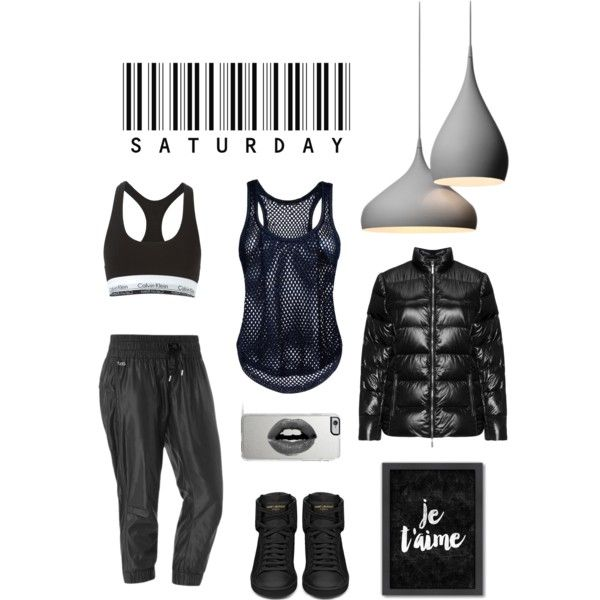A fashion look from October 2015 featuring Anthony Vaccarello tops, Plus by Etage jackets and Lorna Jane activewear pants. Browse and shop related looks.