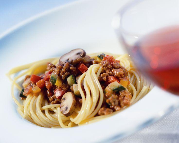 Knorr Spaghetti Bolognese mit frischem Gemüse www.knorr.de