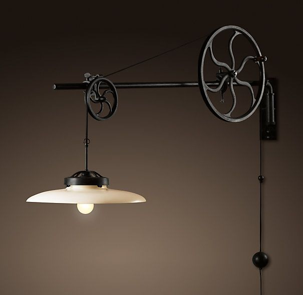More Steampunk Lighting at Restoration Hardware | Referenced at Steampunk.com Nov 29, 2012
