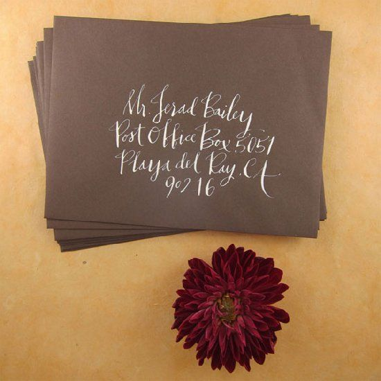 Don't make these common wedding invitation mistakes! (photo: Paperfinger)