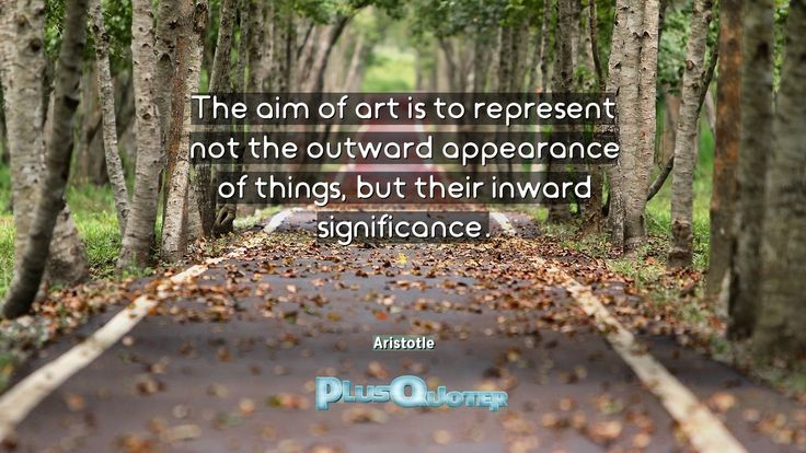 """""""The aim of art is to represent not the outward appearance of things, but their inward significance.""""- Aristotle. Aristotle � biography: Author Profession: Philosopher Nationality: Greek Born: 384 BC Died: 322 BC Wikipedia : About Aristotle Amazone : Aristotle  #Art #Aim #Appearance #Inward #Outward #Outward Appearance #Represent #Significance #Things"""