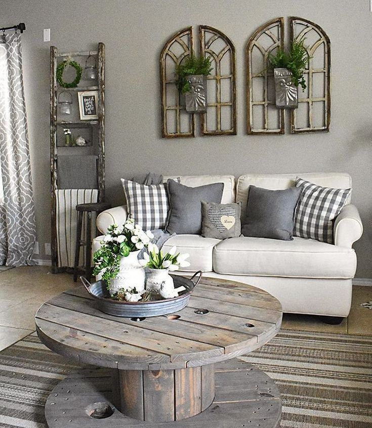 79 best farmhouse living room makeover decor ideas 63