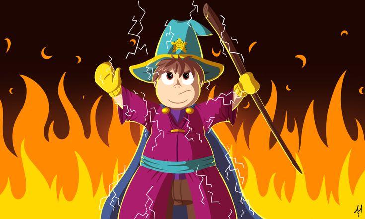Grand Wizard by Milchik on DeviantArt