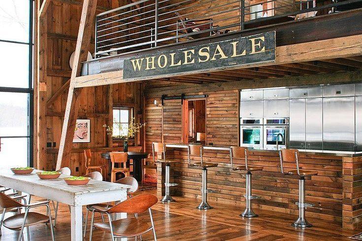 rustic barn loft loft apartments are cool pinterest wood beams