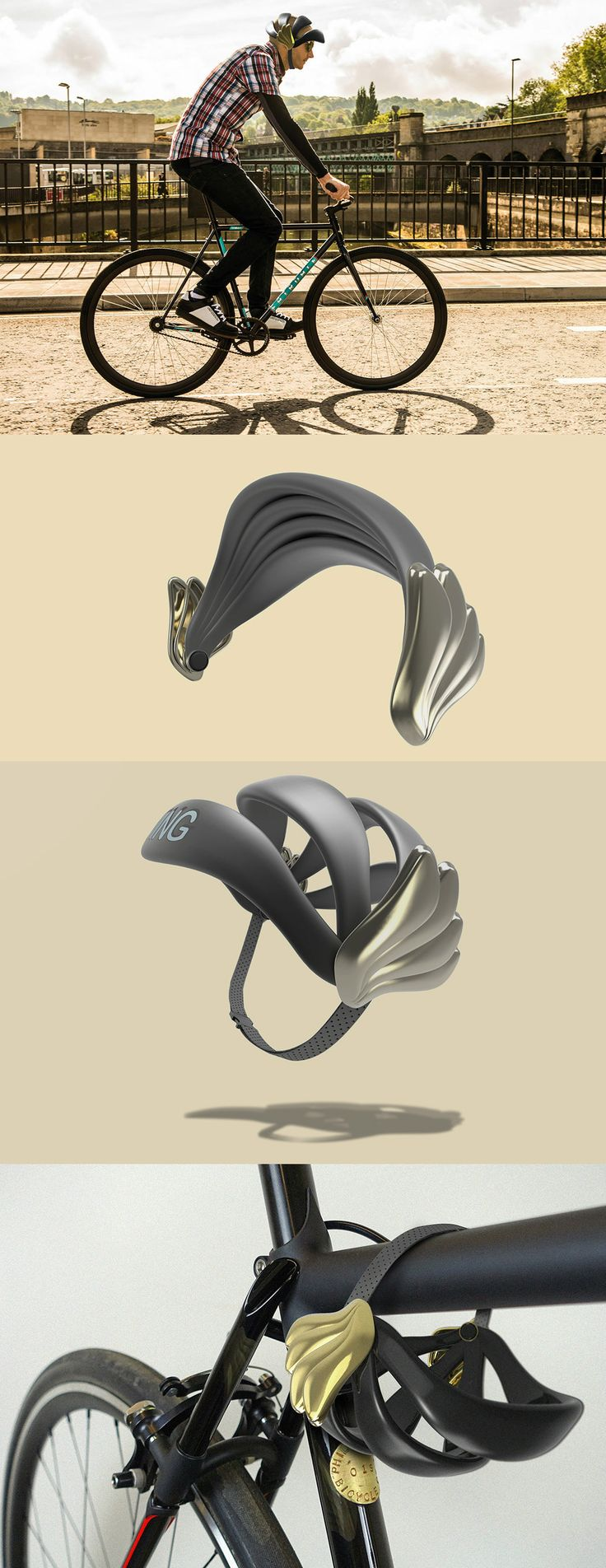 If Hermes Wore a Helmet. Read Full Story at Yanko Design