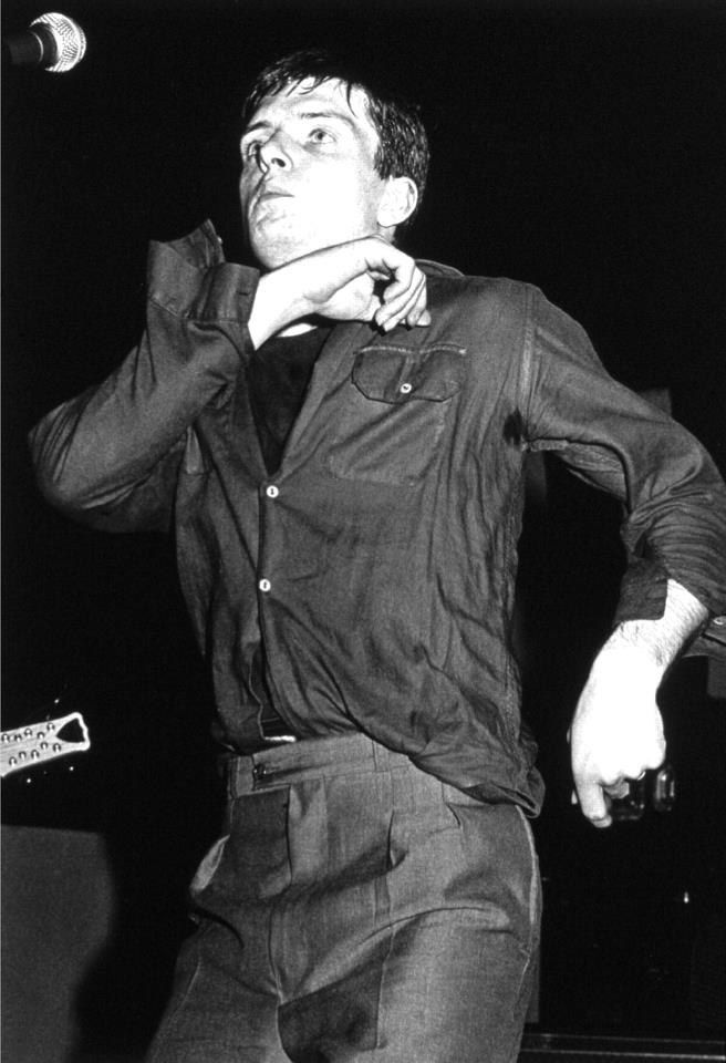 Ian Curtis from Joy Division