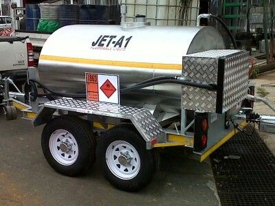 Jet A-1 aviation fuel trailer