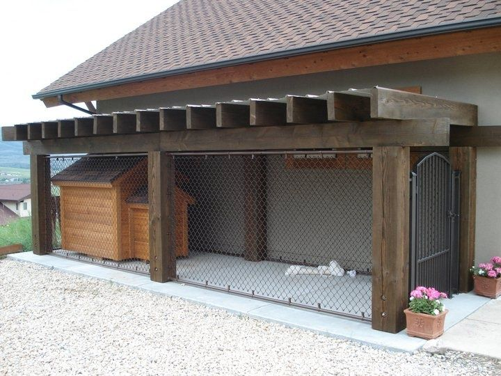 25 Best Ideas About Chain Link Dog Kennel On Pinterest