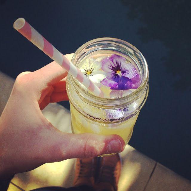 Melie's Kitchen: Rose and Honey Lemonade