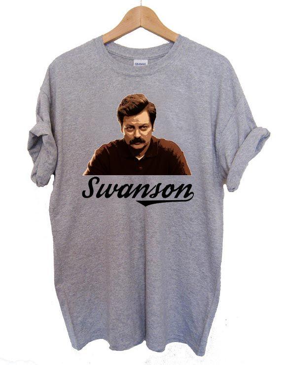 Ron Swanson T Shirt Size S,M,L,XL,2XL,3XL