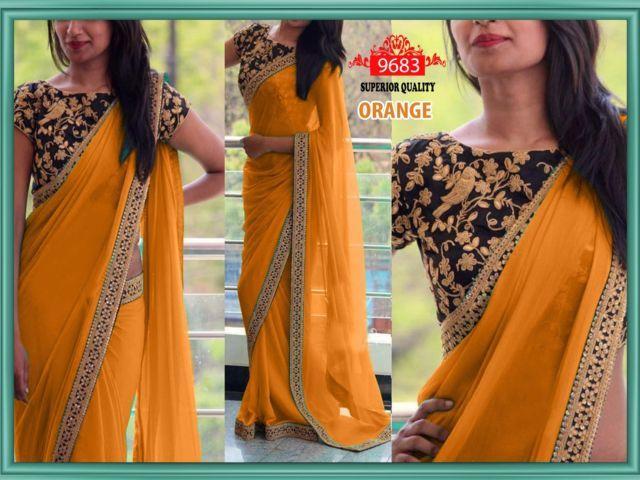 Bollywood Replica Designer Party Wear Designer Blouse Saree Sari | eBay