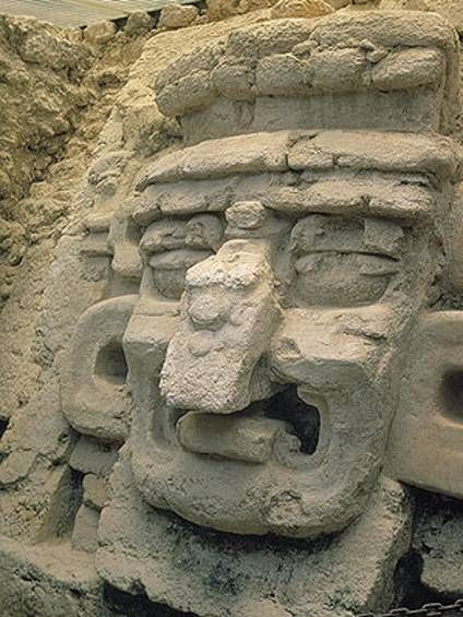 """""""Itzamna"""" Maya. The creator Itzamna, lord of the heavens and creator of night and day, is one of the most important Maya deities."""