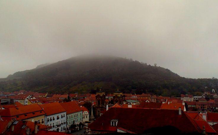 fog above mikulov.