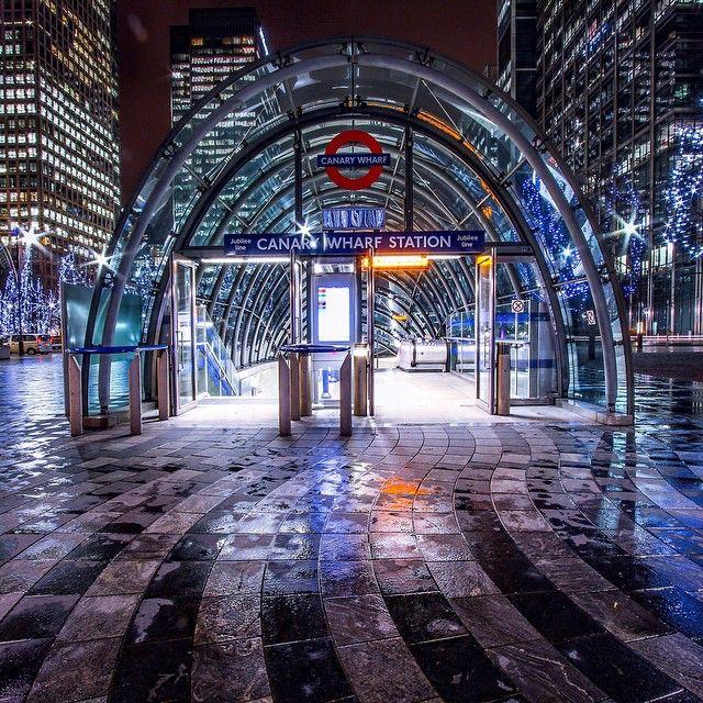 #CanaryWharf by @levanterman  // #thisislondon #london