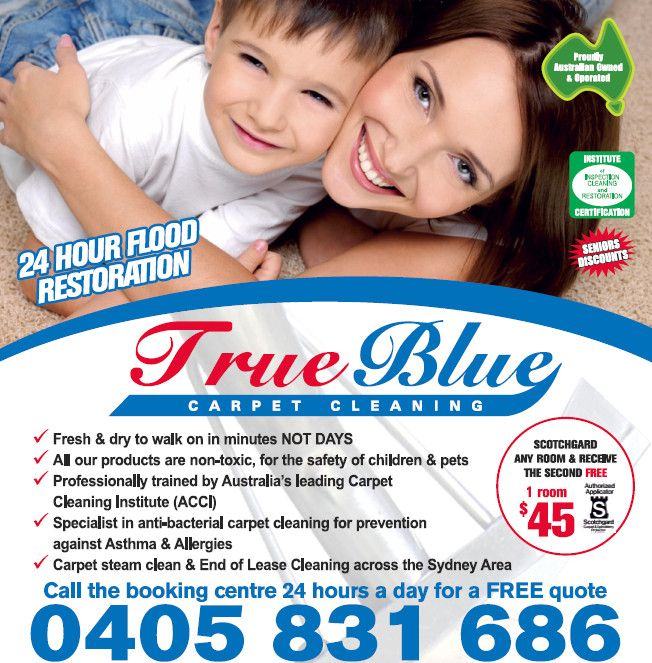 Commercial Carpet Cleaning - True Blue Carpet cleaning