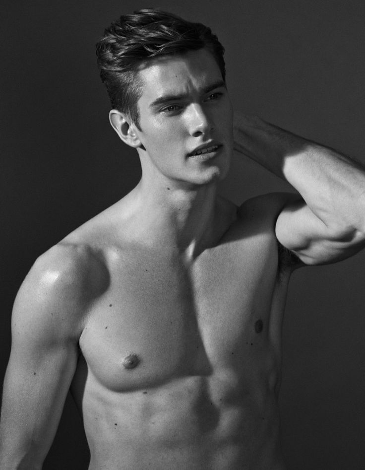 Striking male model Marcus Hedbrandh possess an athletic figure and perfect face just for new shots by Martin Petersson.