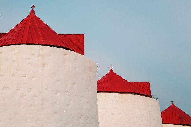 The windmills of Chora ❤️ www.astypalaia-island.gr Photo credits: Vasilis Tsikkinis