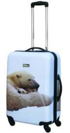 National Geographic Polar Bear 24 Inch Hardside Spinner  - Hard Sided Travel Bags