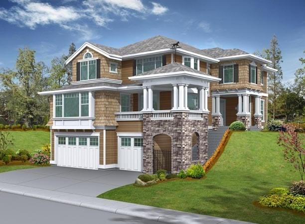 42 best images about coastal house plans on pinterest for Coastal craftsman house plans