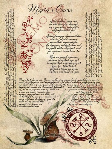 book of shadow ~ left handed magick or dark magick pages