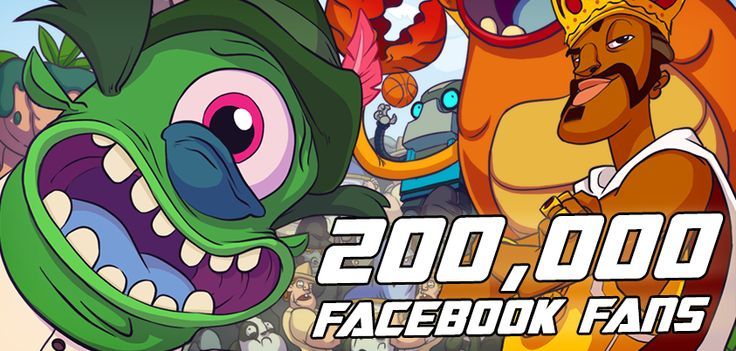 We now have 200,000 Facebook fans, which is amazing. That's more than 2000 fans for each of us here at PikPok!