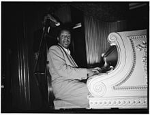 Pianist Erroll Garner born 1921 in Pittsburgh, PA.