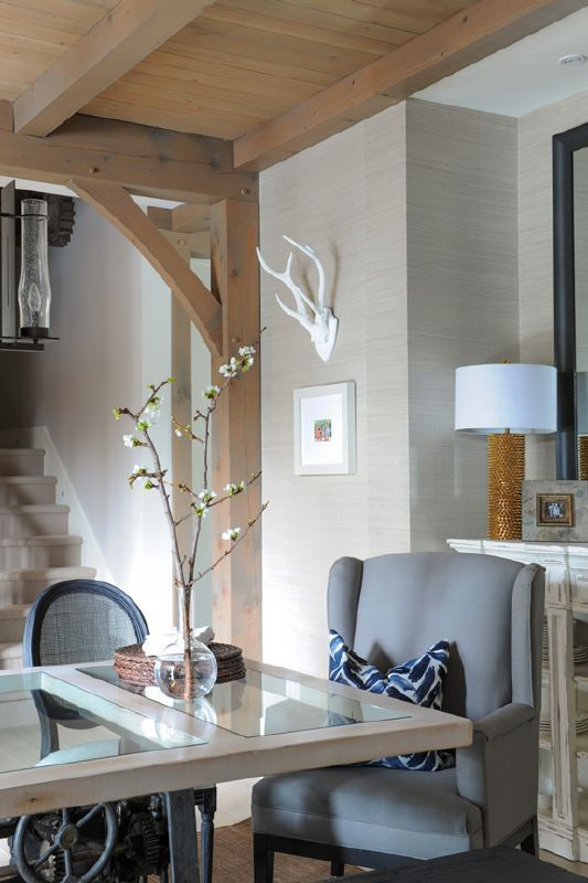 A rustic home with contemporary style